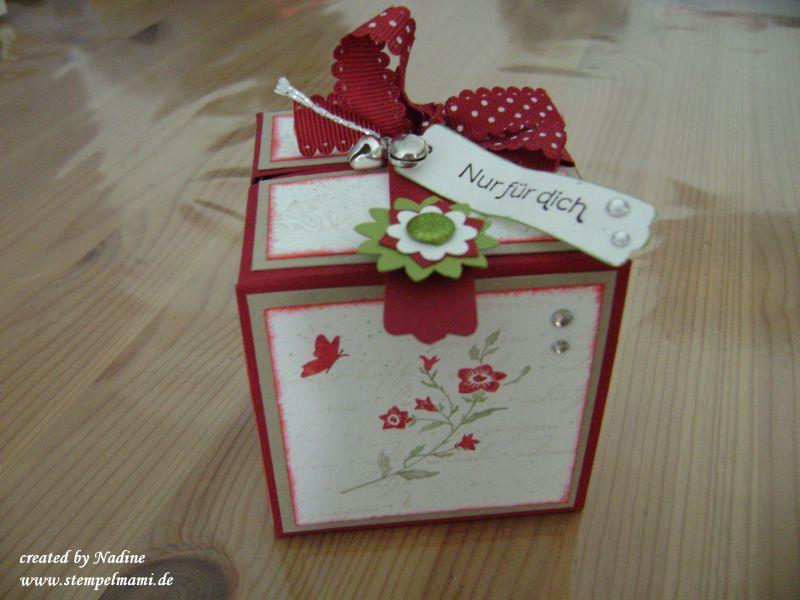 Anleitung / Tutorial einer Explosion Box oder Origami Box