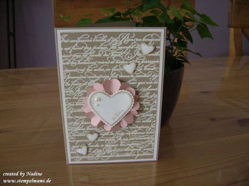 Hochzeitskarten Basteln Mit Stampin Up