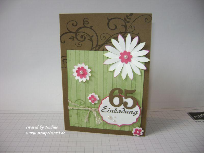 Stampin Up Einladungskarte Vorlagen Design