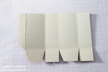 Anleitung Tutorial Mini Box Verpackung Schachtel Stampin Up 006