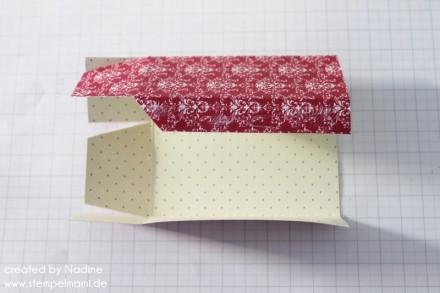 Anleitung Tutorial Mini Box Verpackung Schachtel Stampin Up 007