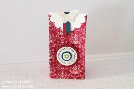 Anleitung Tutorial Mini Box Verpackung Schachtel Stampin Up 022