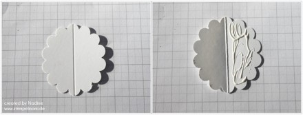 Anleitung Tutorial Mini Box Verpackung Schachtel Stampin Up 025