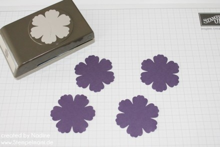 Anleitung Tutorial Mixed Bunch Blume Stampin Up Paper Flower 001