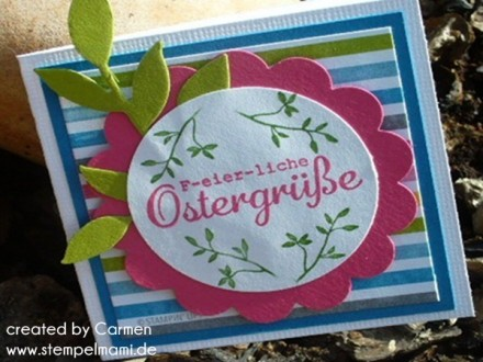 Osterkarte Stampin Up
