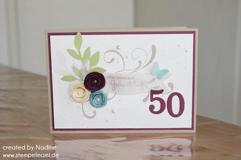 Zum fünfzigsten Geburtstag