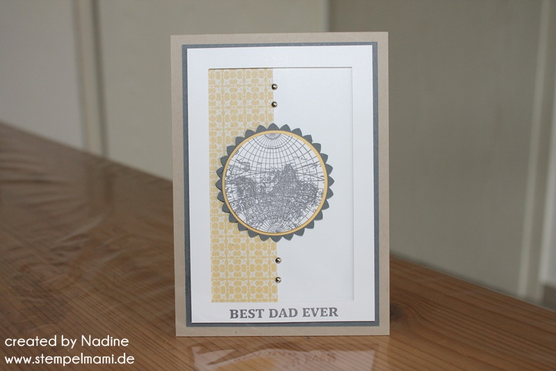vatertagskarte stampin up father day card vatertag karte
