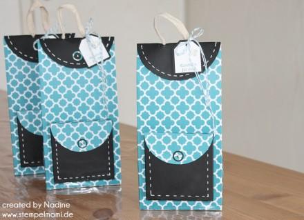 Verpackung Box Stampin Up Rucksack Backpack Bag Schachtel Give Away 007