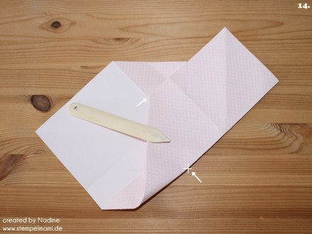 Anleitung Tutorial Origami Tasche Stampin Up Box Goodie Swap 020