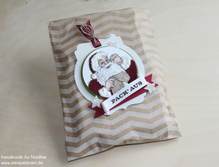 Goodie Stampin Up Tuete Geschenktuete Christmas Give Away 010