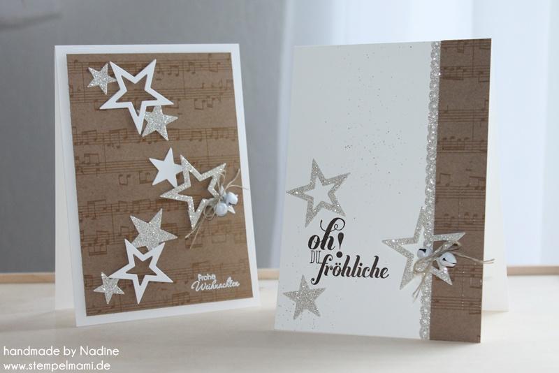 Weihnachtskarte Stampin Up Christmas Card Karte Card 099 Basteln