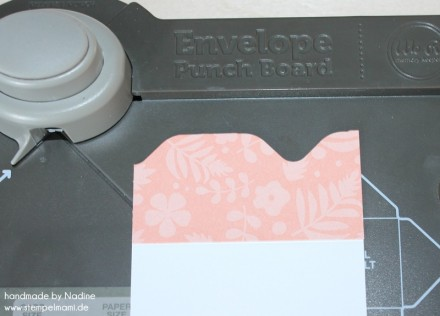 Anleitung Tutorial Stampin Up File Folder Card Envelope Punch 007