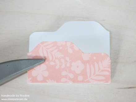Anleitung Tutorial Stampin Up File Folder Card Envelope Punch 019