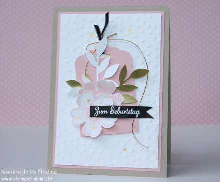 Geburtstagskarte Stampin Up Birthday Card Karte Card 019