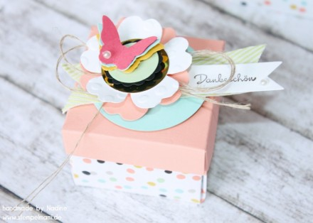 Box Stampin Up Envelope Punch Board Card Box Karte 155