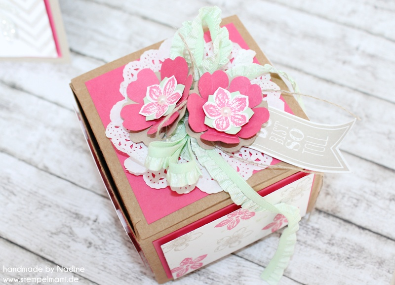 Geburtstagskarte Stampin Up Box Birthday Card Verpackung 079
