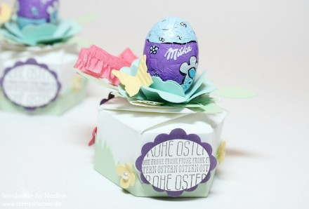 Goodie Stampin Up Ostern Easter Box Hexagon Box 010
