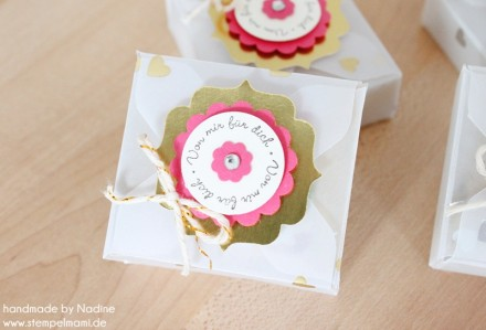 Box Stampin Up Envelope Punch Board Card Box Pillowbox 161