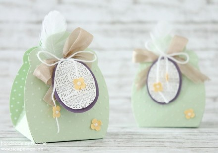 Stampin Up Osterkorb Easterbasket Box Goodie Give Away Ostern 007