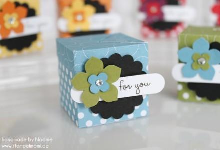 Stampin Up Swap Swaps Box Verpackung Schachtel Goodie Give Away 040