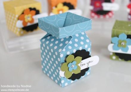 Stampin Up Swap Swaps Box Verpackung Schachtel Goodie Give Away 049