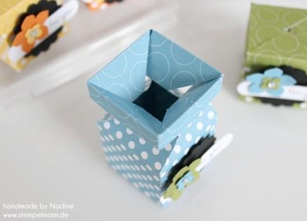 Stampin Up Swap Swaps Box Verpackung Schachtel Goodie Give Away 050