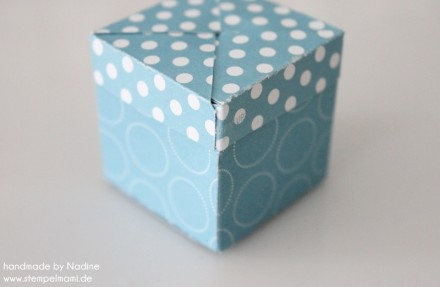Stampin Up Anleitung Tutorial Magic Box Verpackung Goodie Give A 039