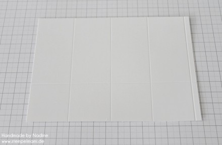 Anleitung Tutorial Stampin Up Box Verpackung One Sheet Box Goodi 009