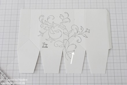 Anleitung Tutorial Stampin Up Box Verpackung One Sheet Box Goodi 020