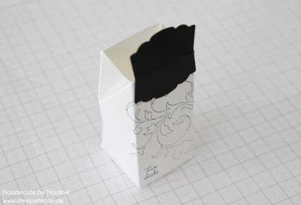 Anleitung Tutorial Stampin Up Box Verpackung One Sheet Box Goodi 029
