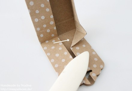 Anleitung Tutorial Stampin Up Box Verpackung Tasche Goodi Tag 012