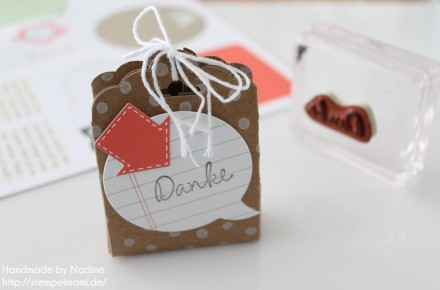 Anleitung Tutorial Stampin Up Box Verpackung Tasche Goodi Tag 022