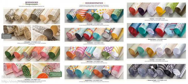 Stampin Up Designerpapier Musterpakete0 www.stempelmami.de