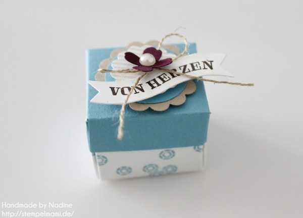 Anleitung Tutorial Stampin Up Envelope Punch Board Mini Box 004