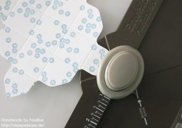 Anleitung Tutorial Stampin Up Envelope Punch Board Mini Box 014