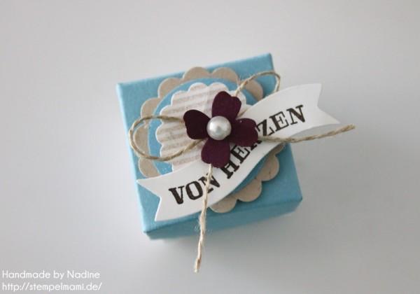 Anleitung Tutorial Stampin Up Envelope Punch Board Mini Box 046