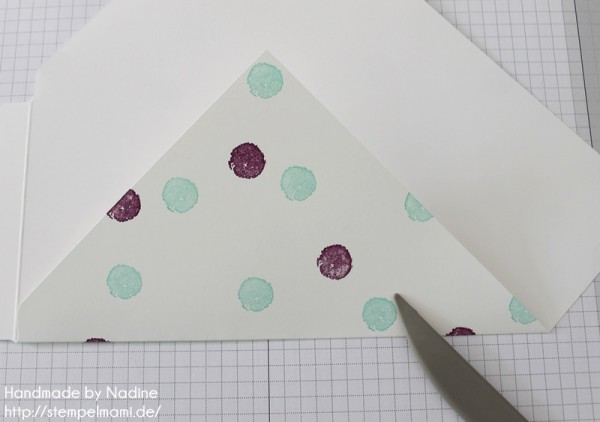 Anleitung Tutorial Stampin Up Umschlag Envelope Punch Board 016