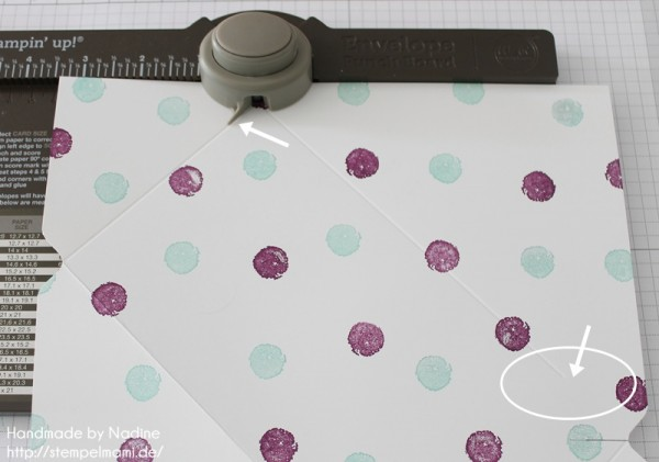 Anleitung Tutorial Stampin Up Umschlag Envelope Punch Board 020