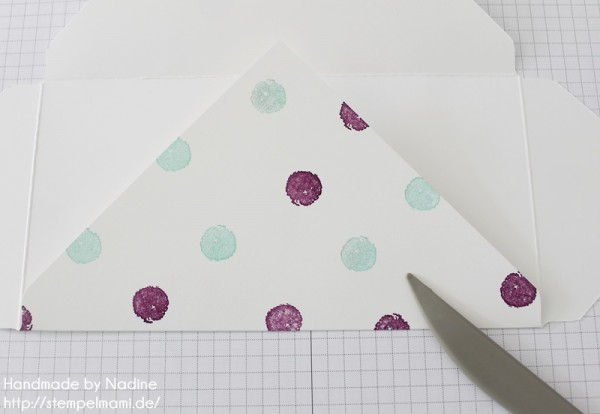 Anleitung Tutorial Stampin Up Umschlag Envelope Punch Board 030