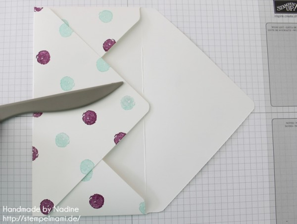 Anleitung Tutorial Stampin Up Umschlag Envelope Punch Board 035