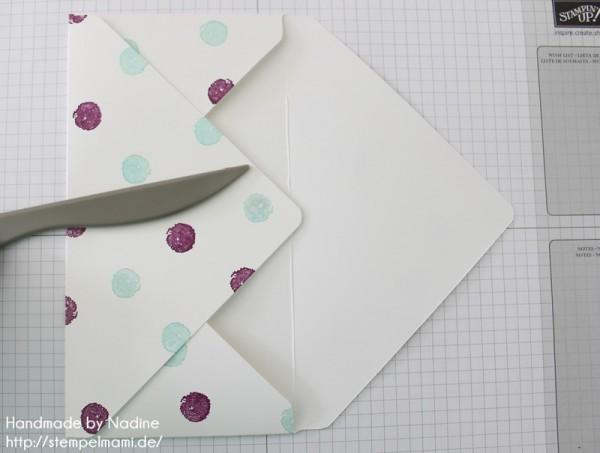 Anleitung Tutorial Stampin Up Umschlag Envelope Punch Board 035