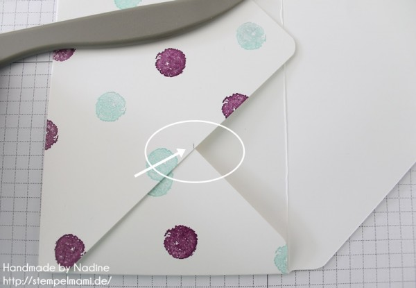 Anleitung Tutorial Stampin Up Umschlag Envelope Punch Board 037