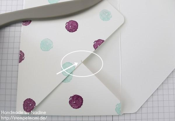 Anleitung Tutorial Stampin Up Umschlag Envelope Punch Board 037
