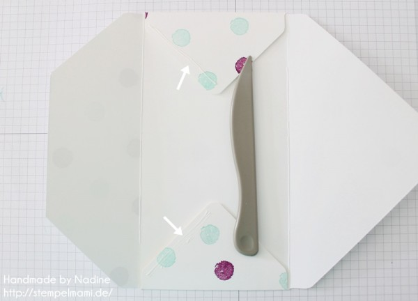 Anleitung Tutorial Stampin Up Umschlag Envelope Punch Board 041