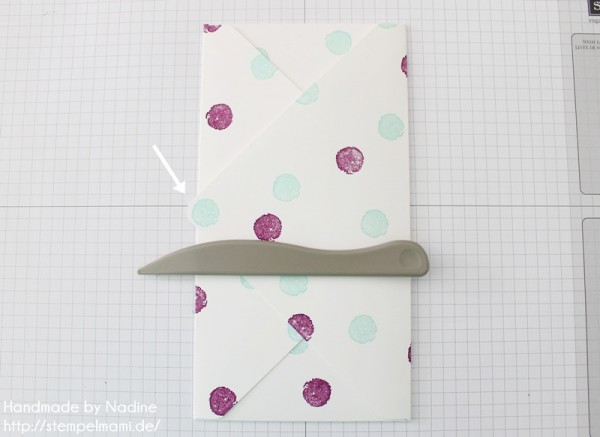 Anleitung Tutorial Stampin Up Umschlag Envelope Punch Board 043