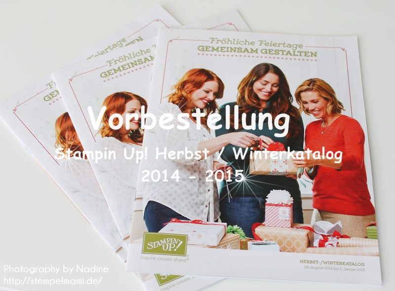 Stampin Up! Herbst – Winterkatalog 2014 – 2015