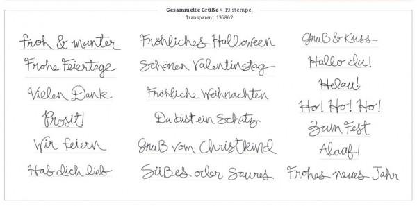 Stampin Up Stempelset Gesammelte Gruesse deutsch www.stempelmami.de