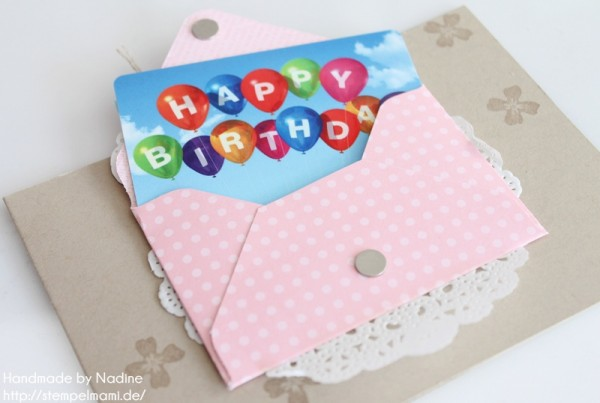 Geburtstagskarte Stampin Up Birthday Card Grusskarte Greeting 163