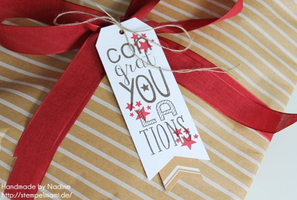 Geschenke Stampin Up sandfarbenes Designer Geschenkpapier Festtage Gastgeschenke Box Goodie Give Away 037