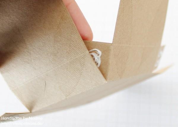 Anleitung Tutorial Box Umschlaege fuer Geschenkkarten Stampin Up Schachtel Verpackung Stempelset Heiteres Hurra 013